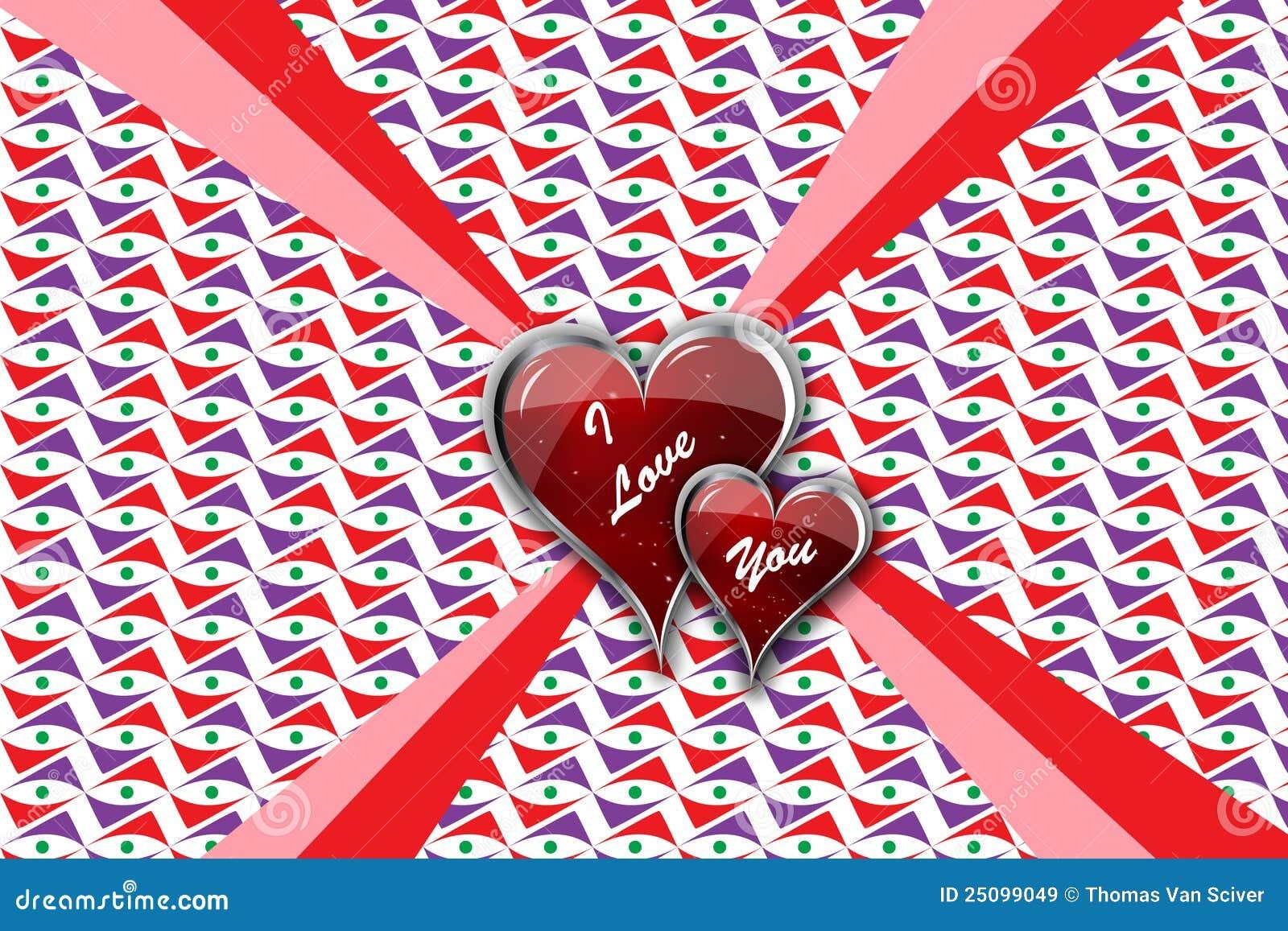 Te Amo En Arena Foto De Archivo Imagen De Elementos: Te Amo Corazones En El Conjunto Imágenes De Archivo