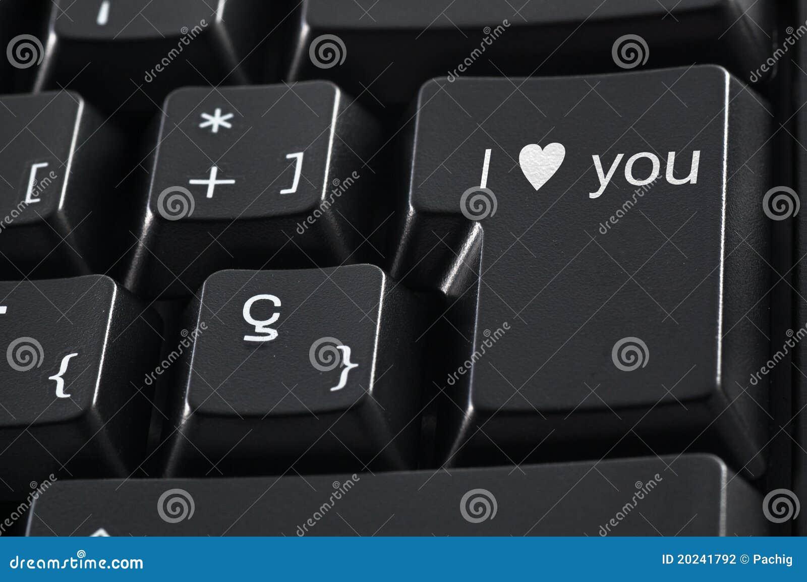 Te amo teclado