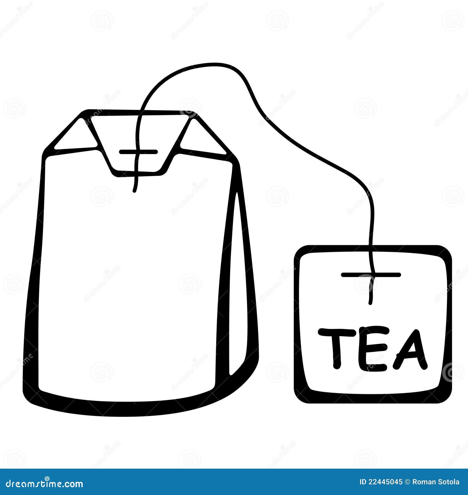 clip art tea bag - photo #7