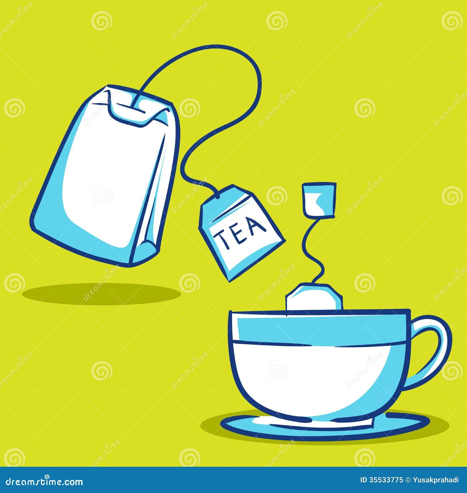 clip art tea bag - photo #8