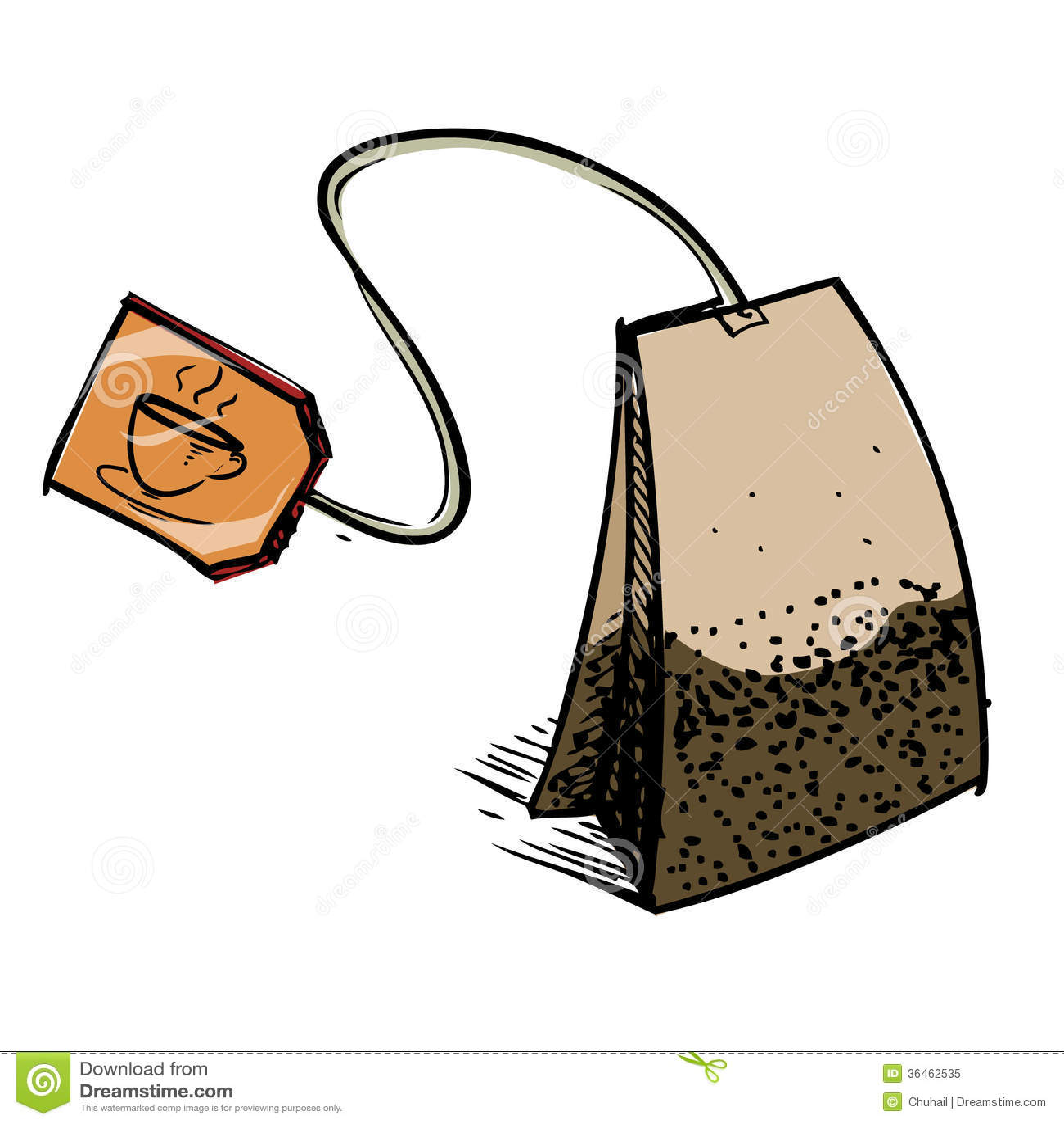 clip art tea bag - photo #42