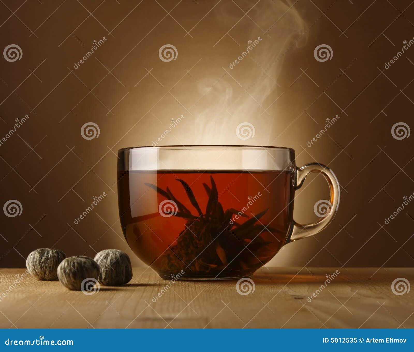 Tea bowl with Chinese tea