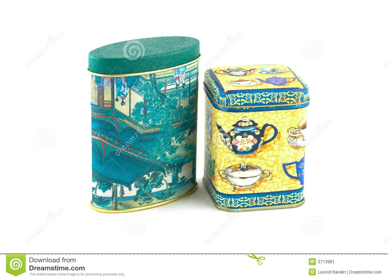 Tea box.