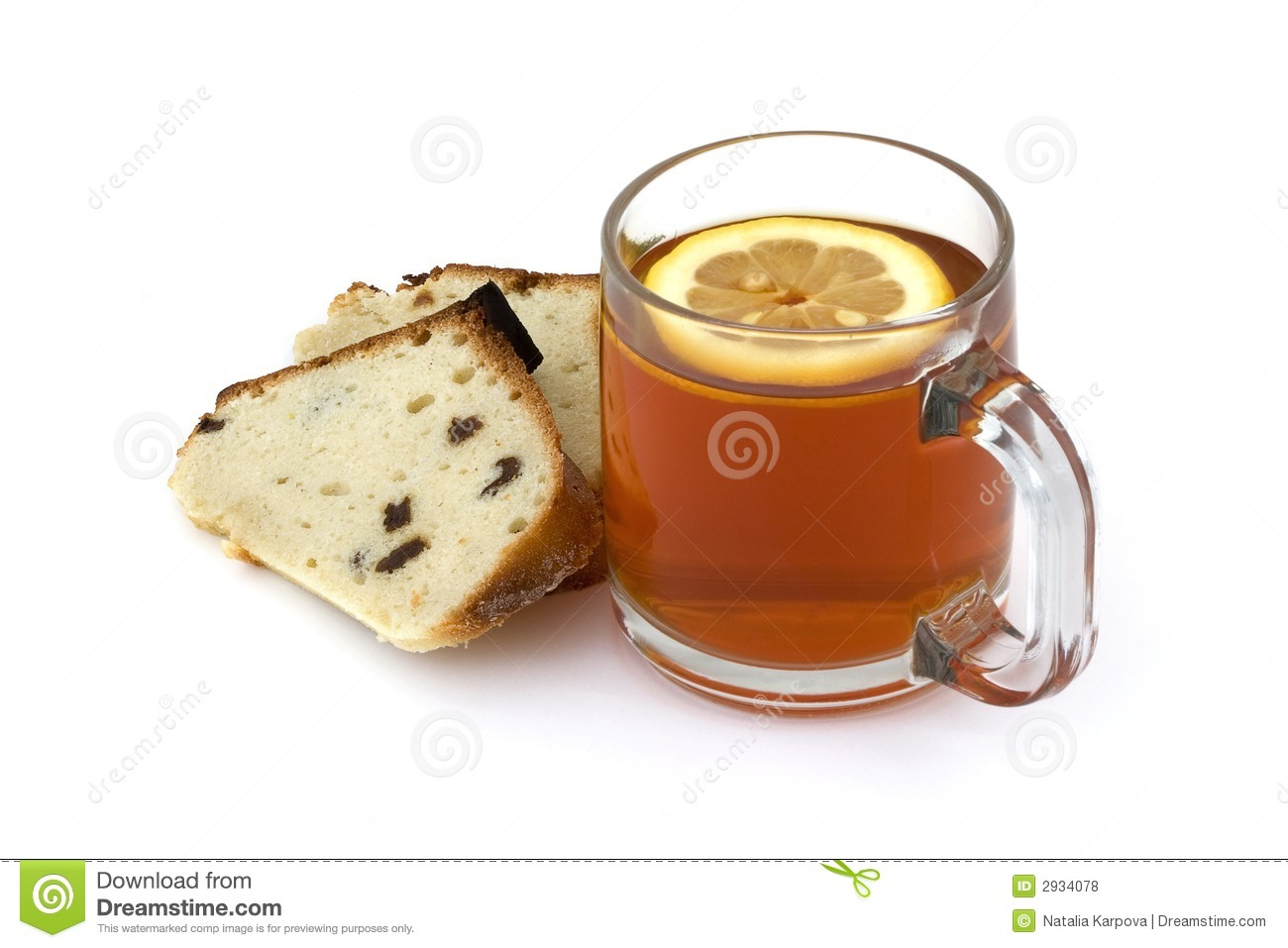 Free Clipart Tea And Cake : Tea And Cake Royalty Free Stock Photos - Image: 2934078