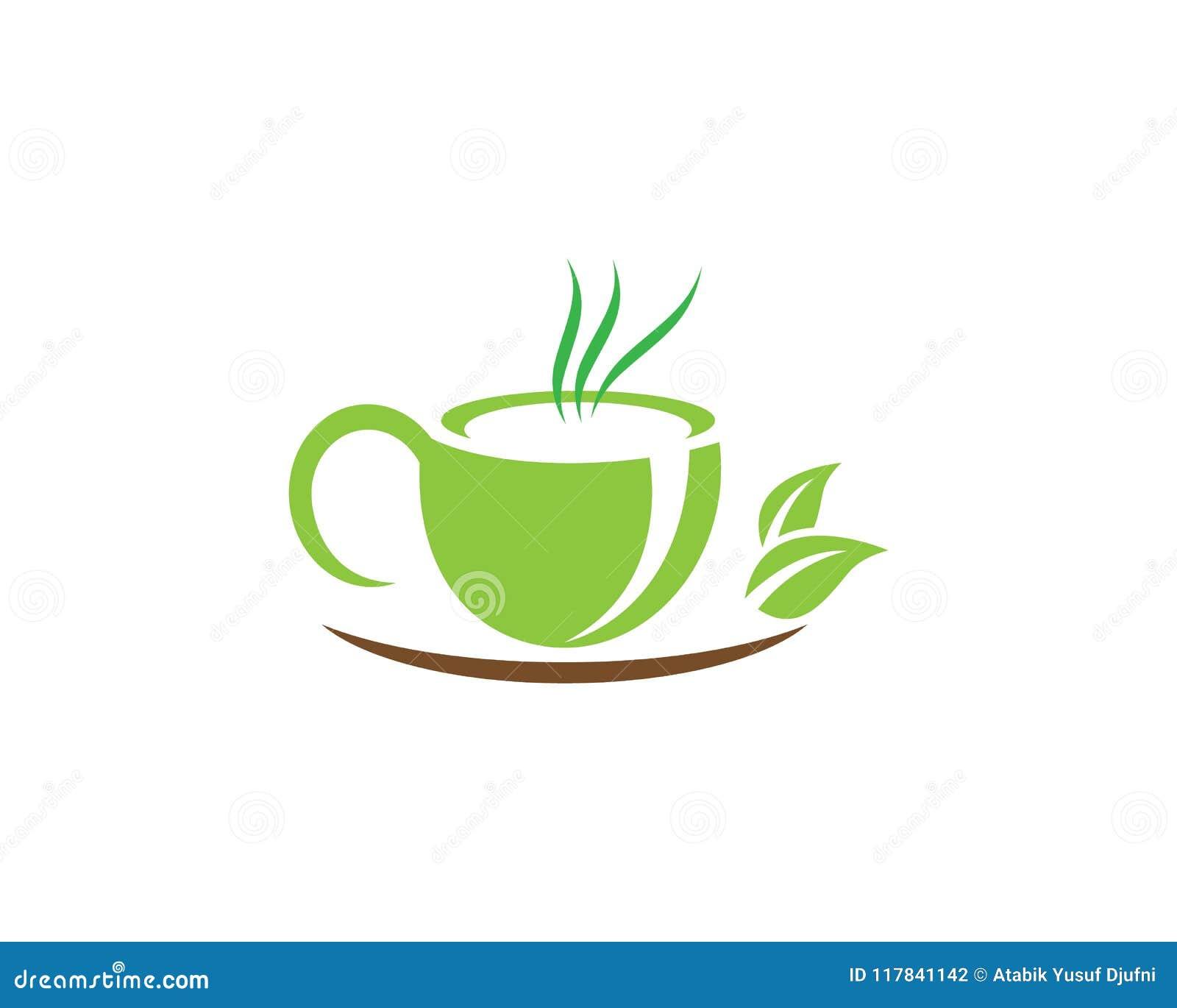 Tea cup logo template stock vector illustration of drink 117841142 tea cup logo template maxwellsz