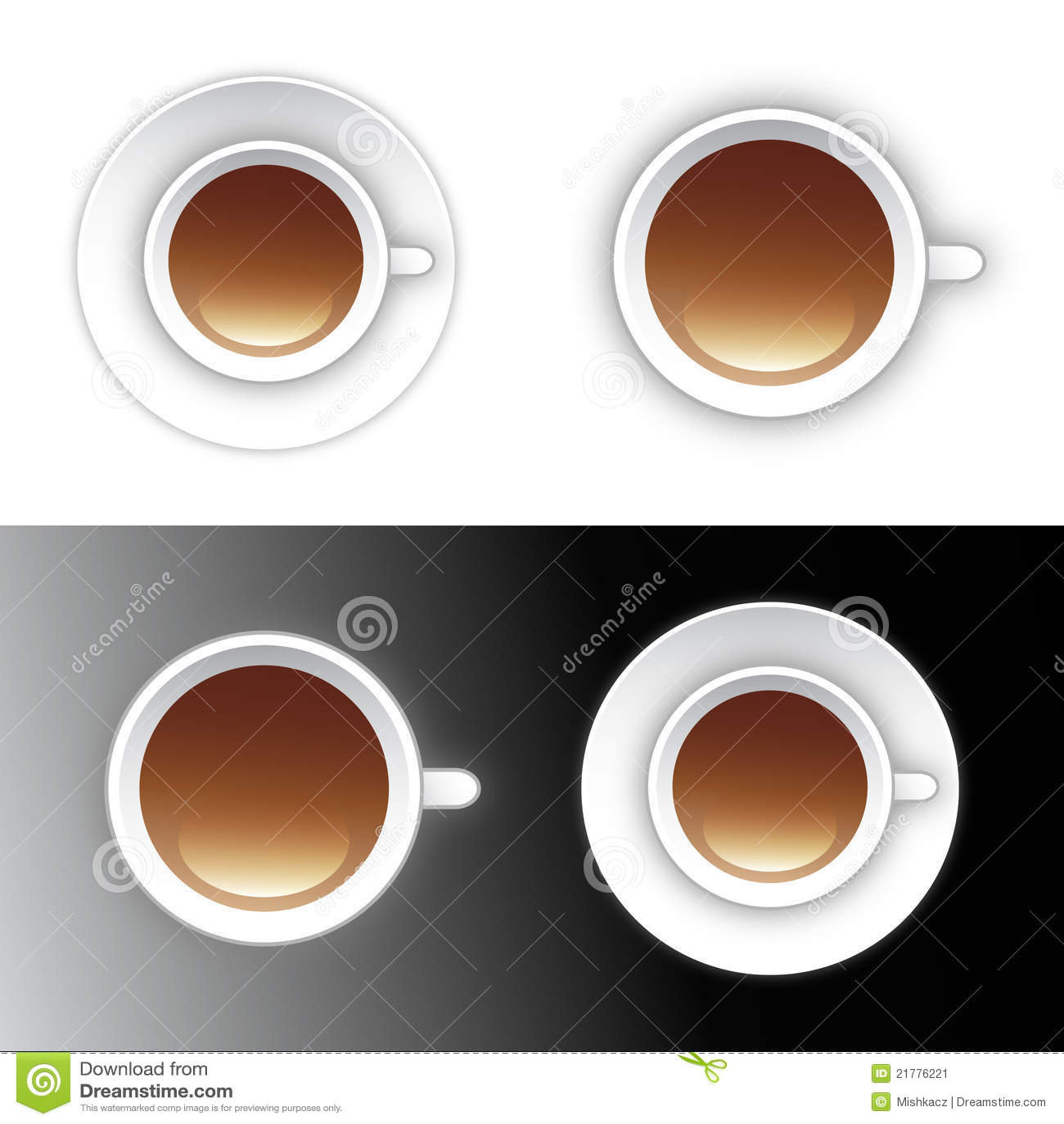 Tea för symbol för design för kaffekopp