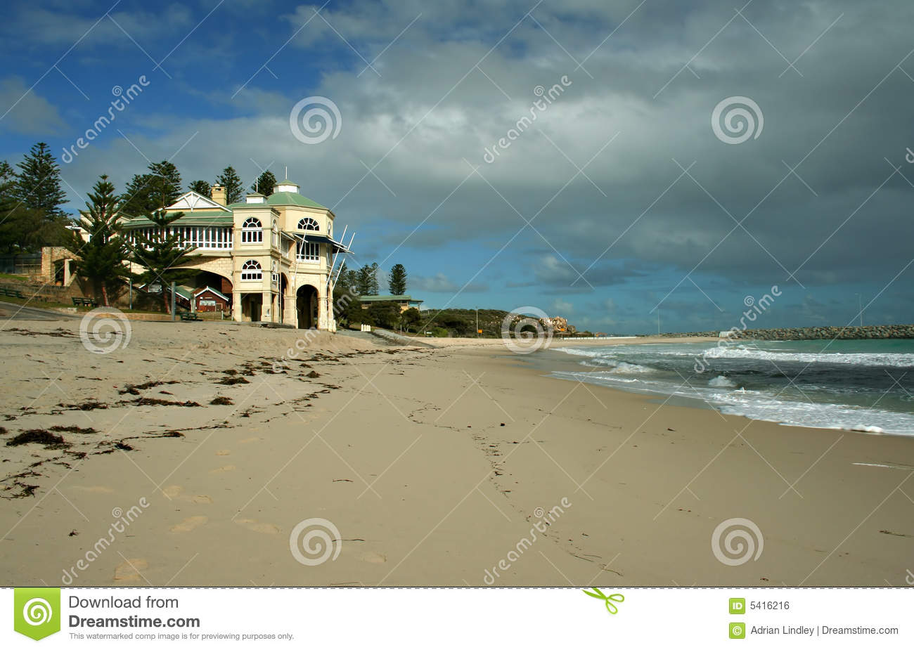 Tea House Cottesloe WA Royalty Free Stock Image Image 5416216