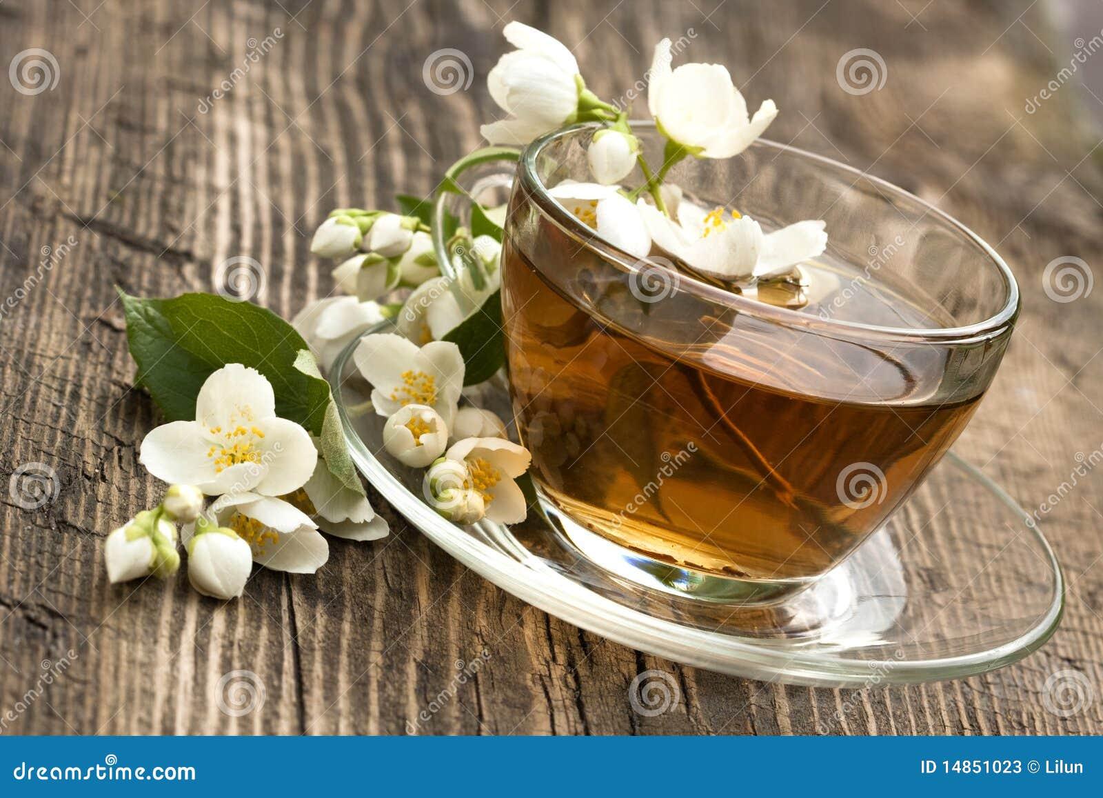 Tea and jasmine