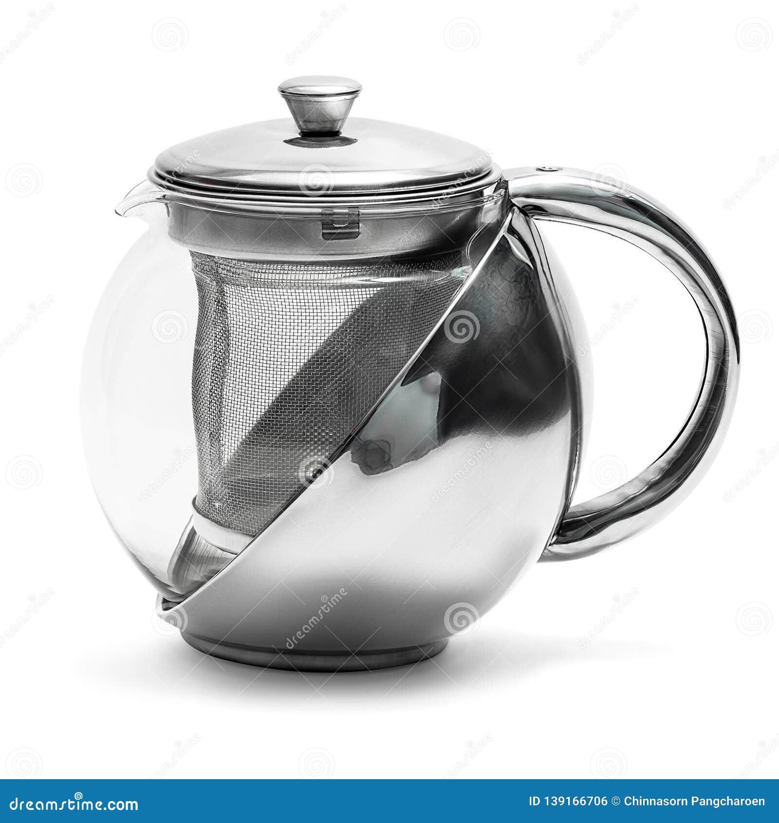 Tea kettle isolated