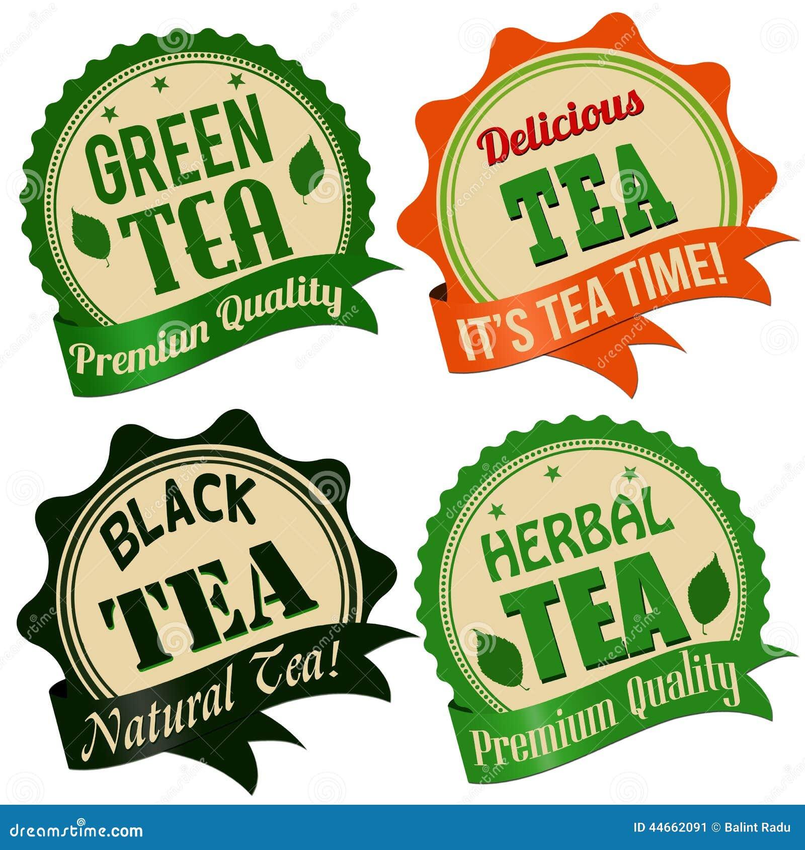 Шаблоны этикеток для чая своими руками