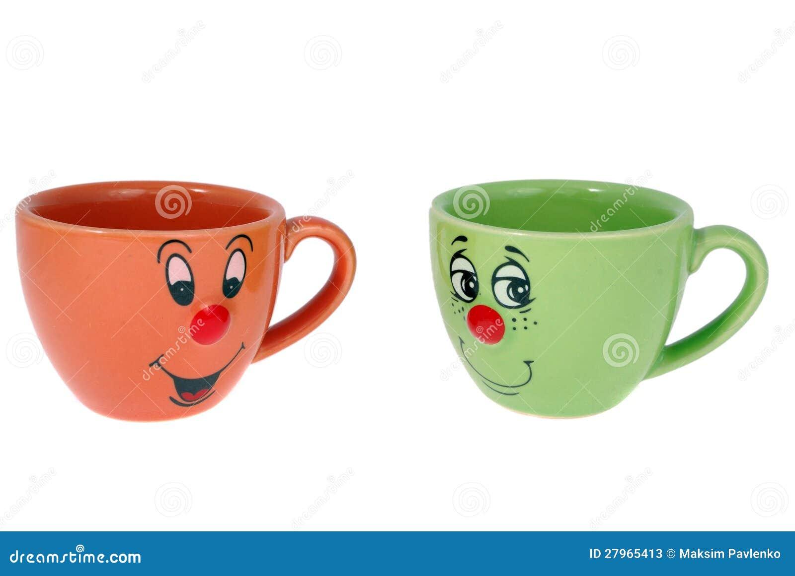 tea mugs and coffee cups stock photos image 27965413