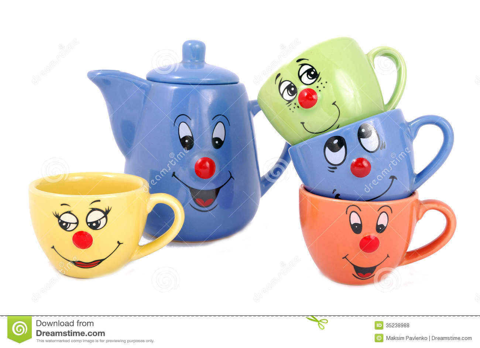 tea mugs and coffee cups royalty free stock photos image