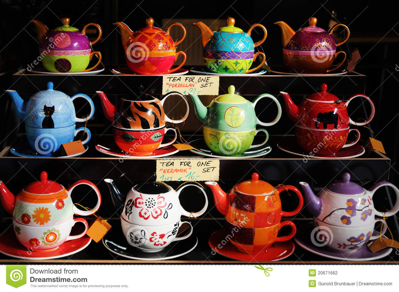 tea for one stock photo image of funny coffee cups 20671662. Black Bedroom Furniture Sets. Home Design Ideas