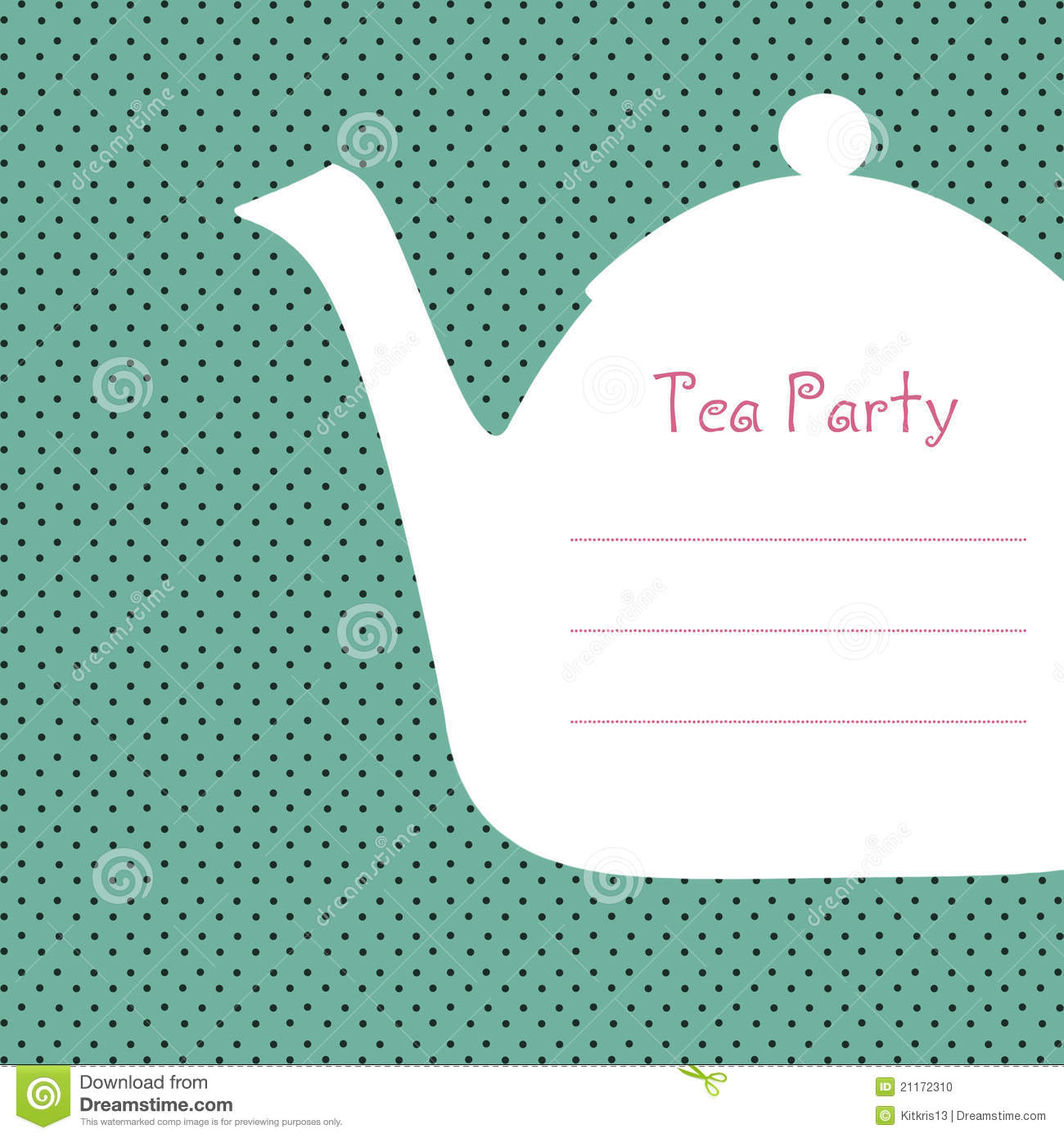 Free Tea Party Invitations Templates is great invitations layout