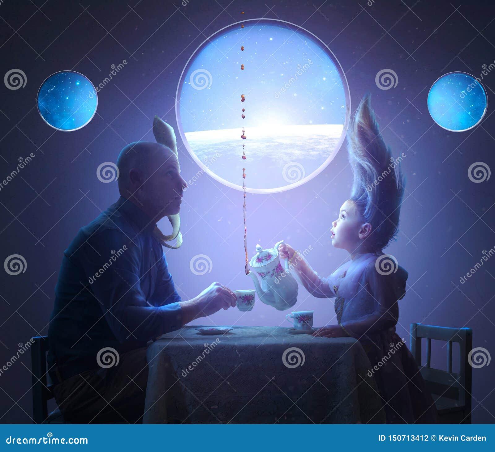 Tea Party nello spazio