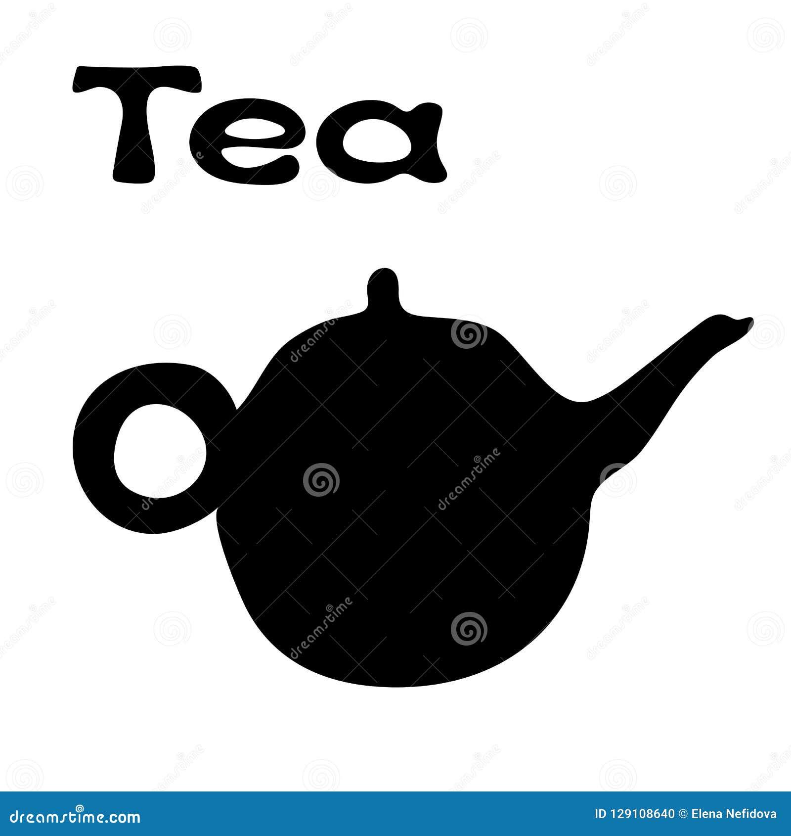 Tea Pot Simple Icon Vector Illustration. Eps10 Stock ...