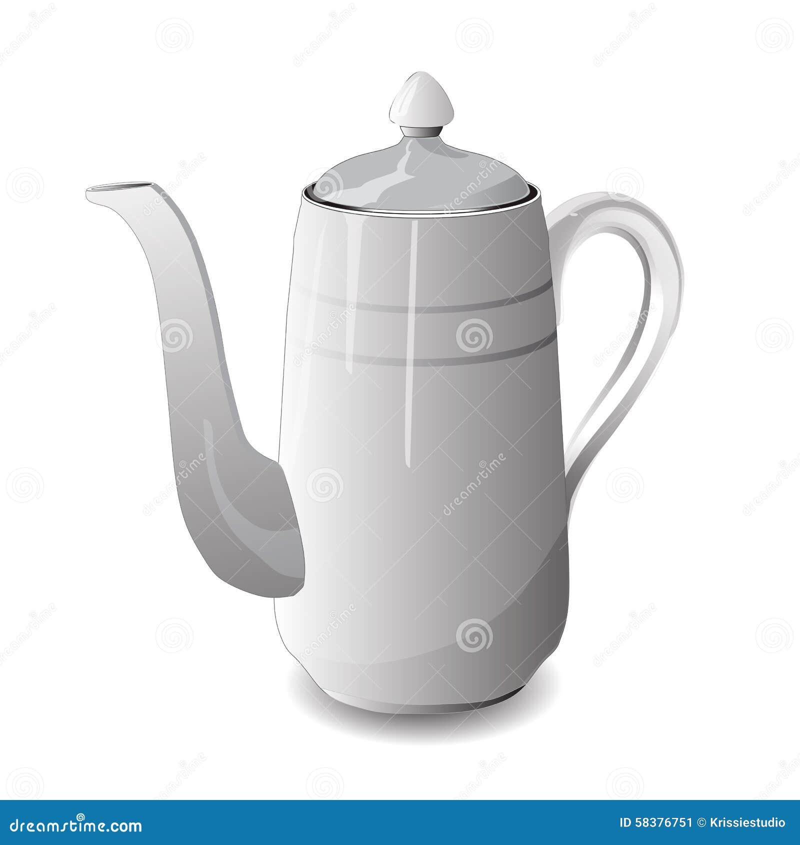 Tea Pot. Vector Illustration Stock Vector - Illustration ...