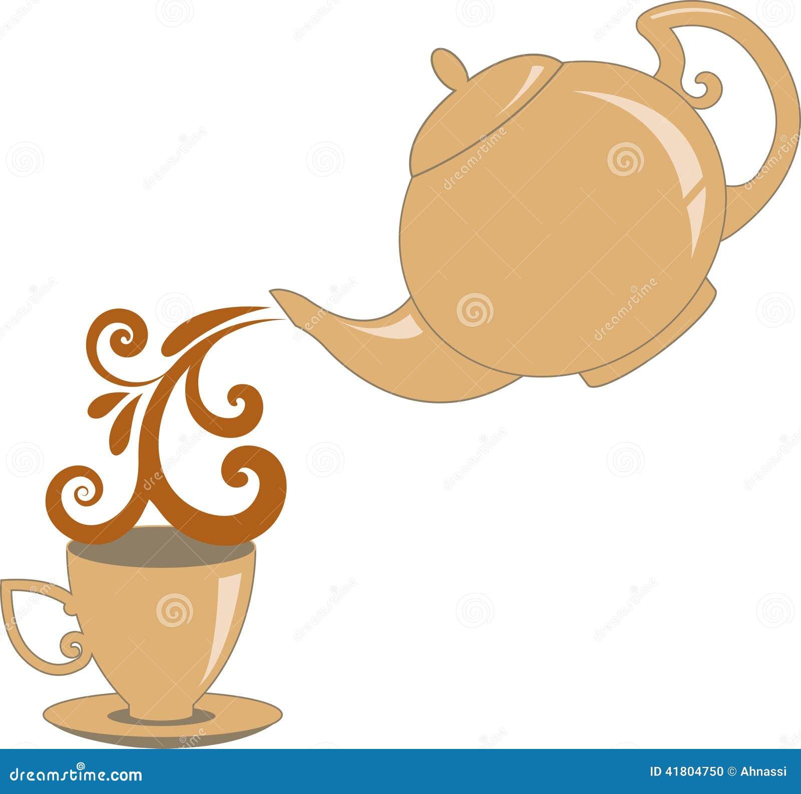 Decorative Glass Tea Pot