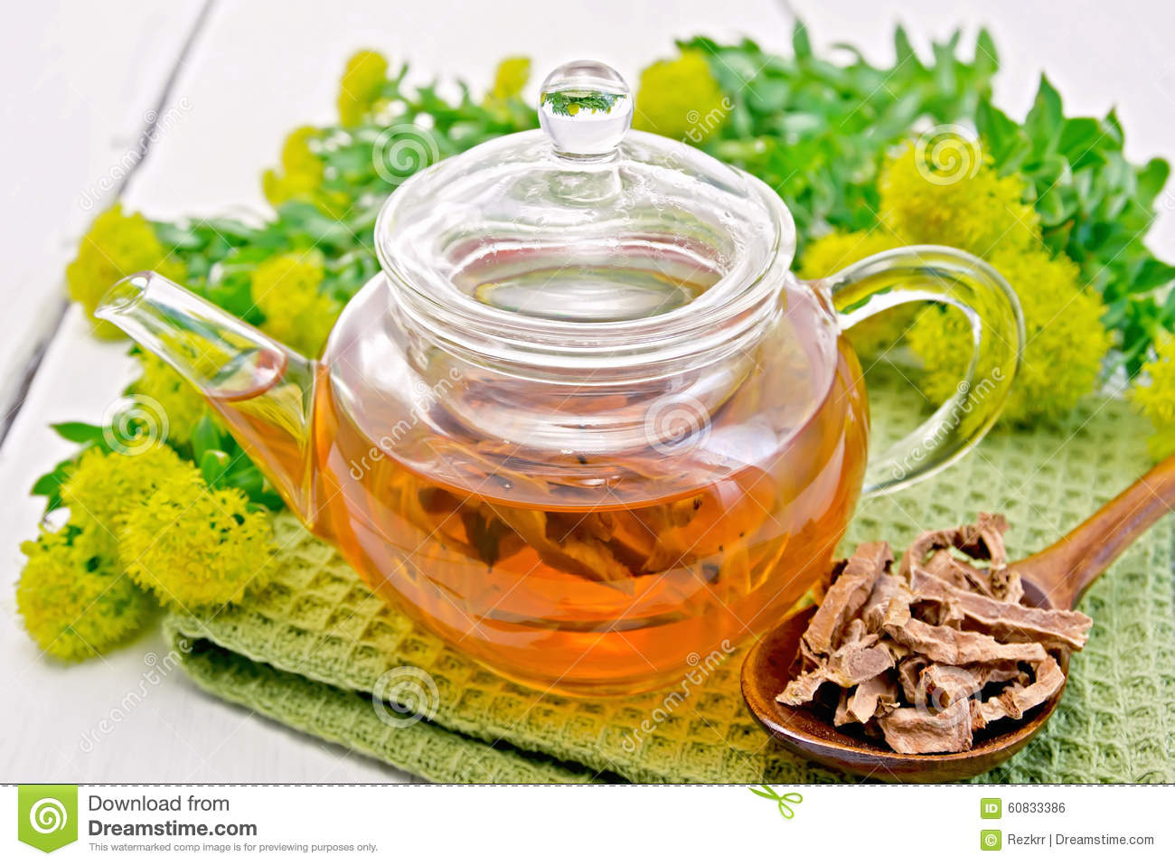 how to make rhodiola tea