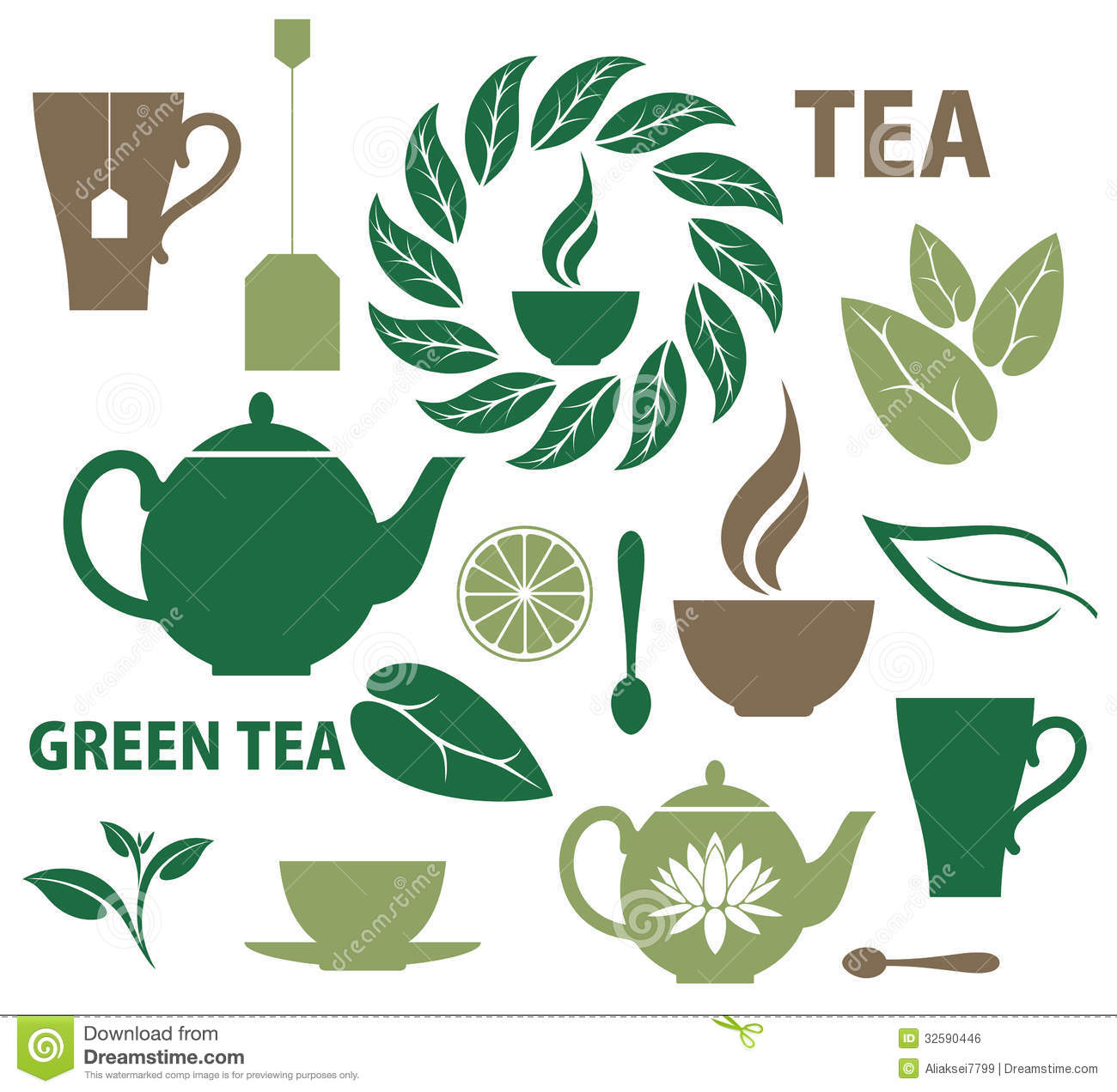 View Tea Vector Free