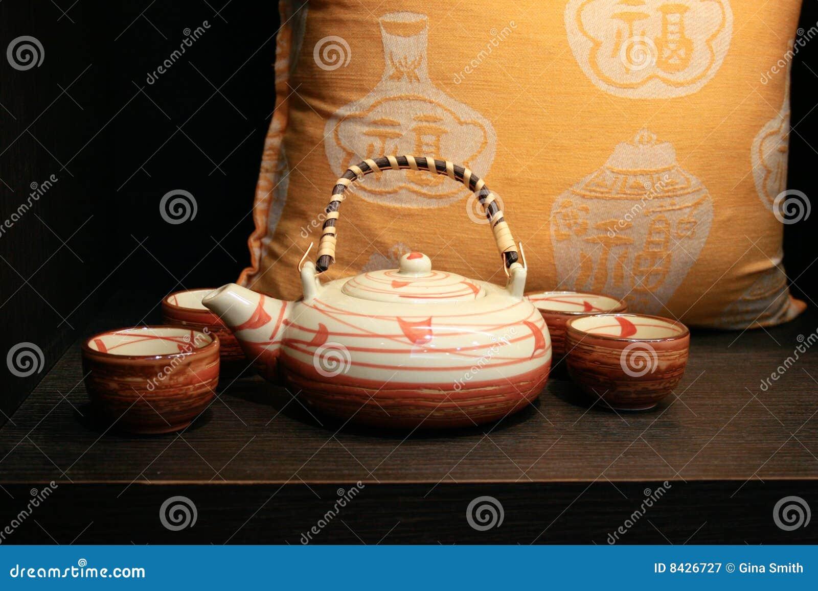 Tea set from Japan