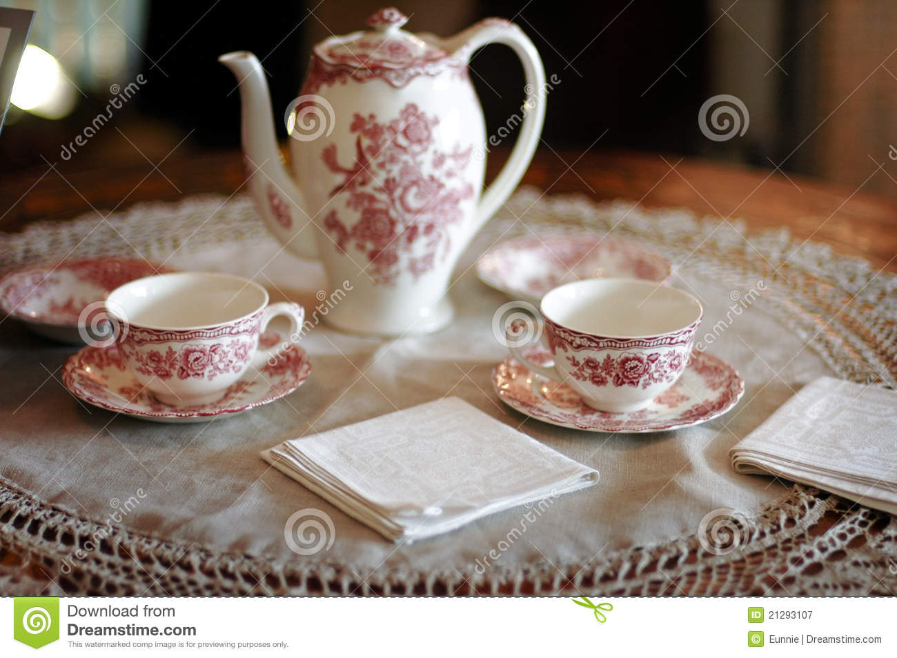 Tea Time Royalty Free Stock Photography - Image: 21293107