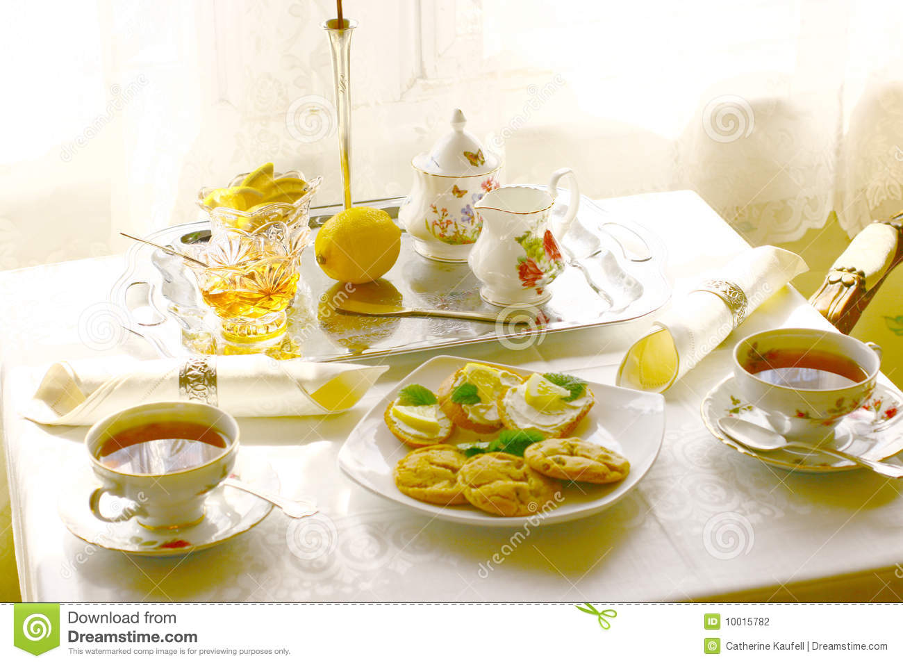 Tea Time II Stock Photography - Image: 10015782