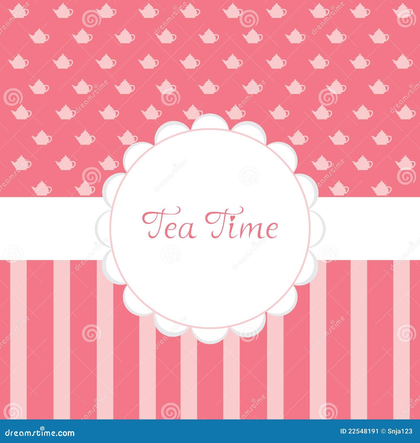 tea party time - photo #21