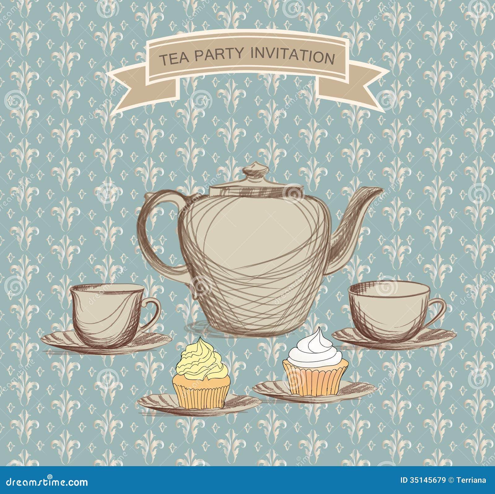 Teapot Invitation Template was good invitation example