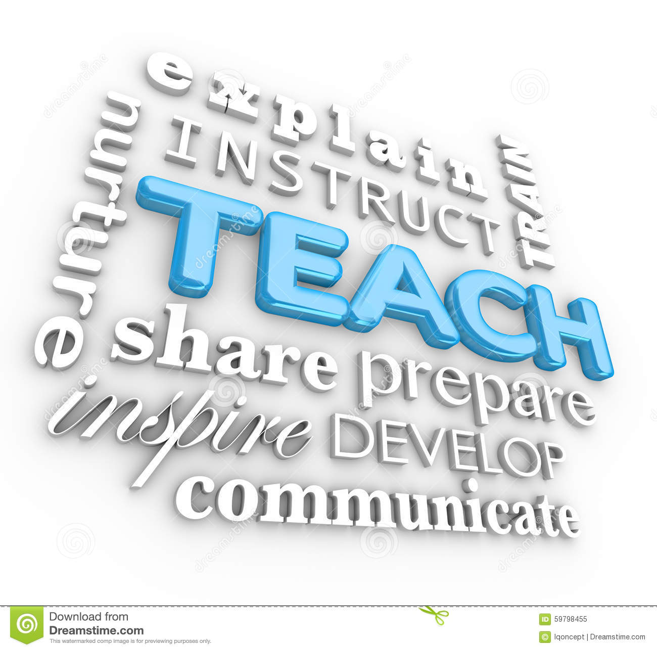 Teach Instruct  Letters