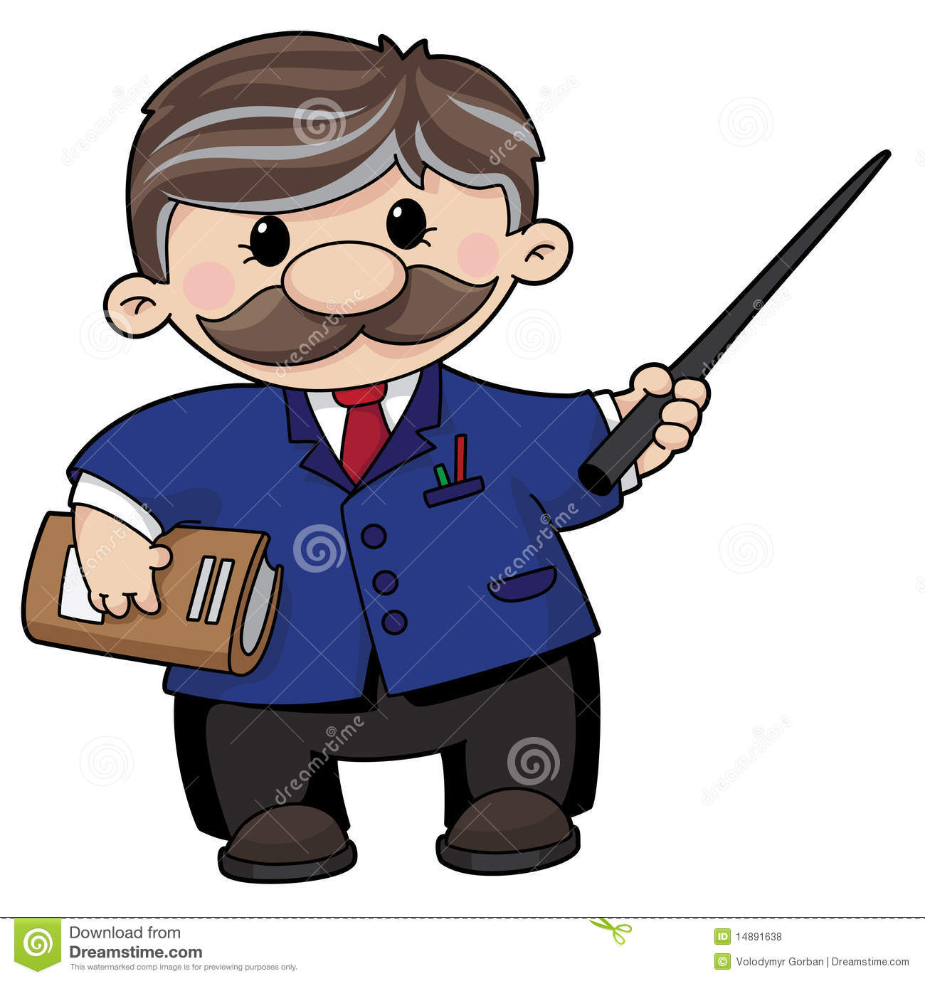 Cartoon Male Teacher Stock Photos, Images, & Pictures - 2,668 Images