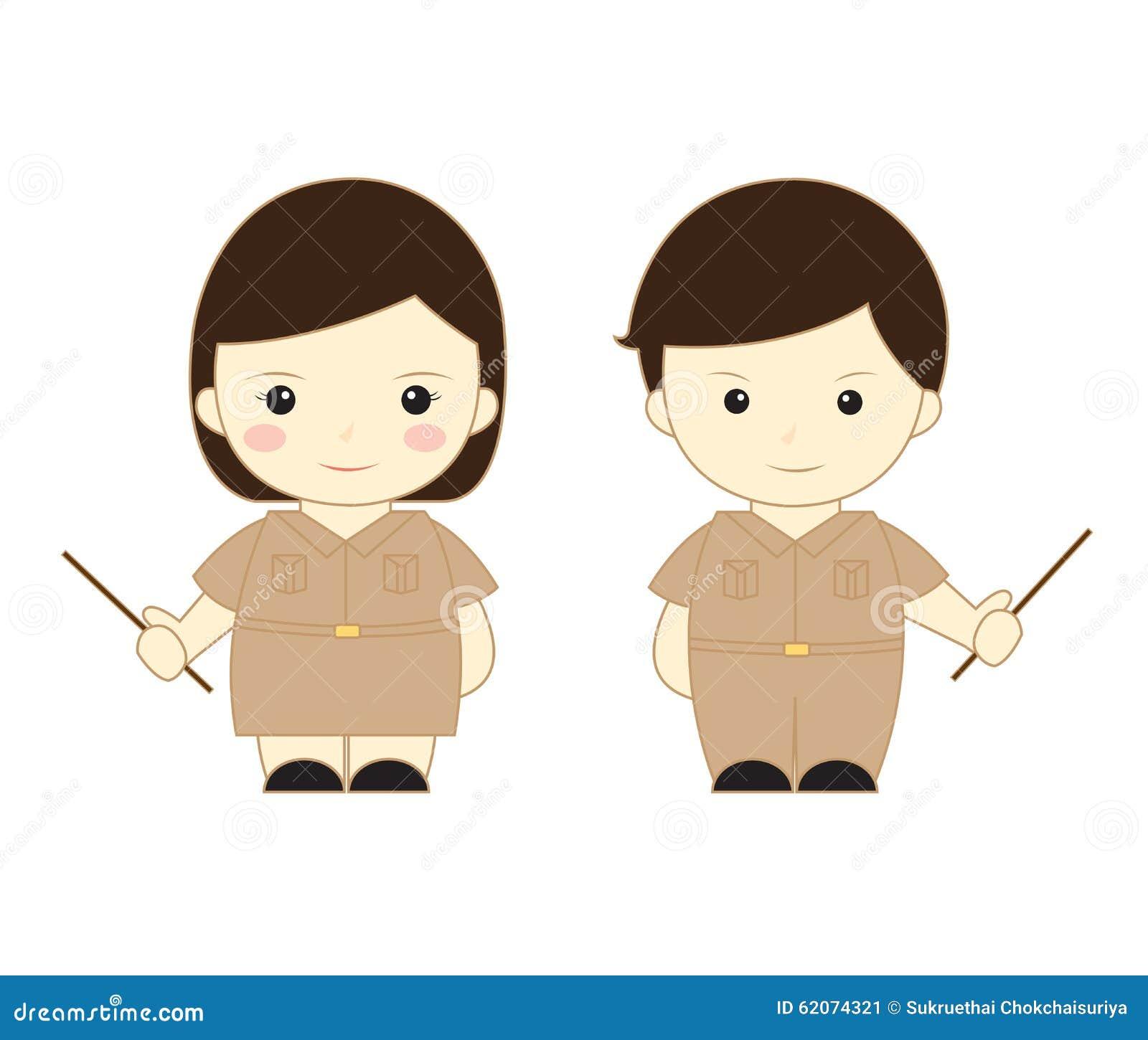 teacher cartoon stock illustration image 62074321 cute school clipart free cute school clipart black and white