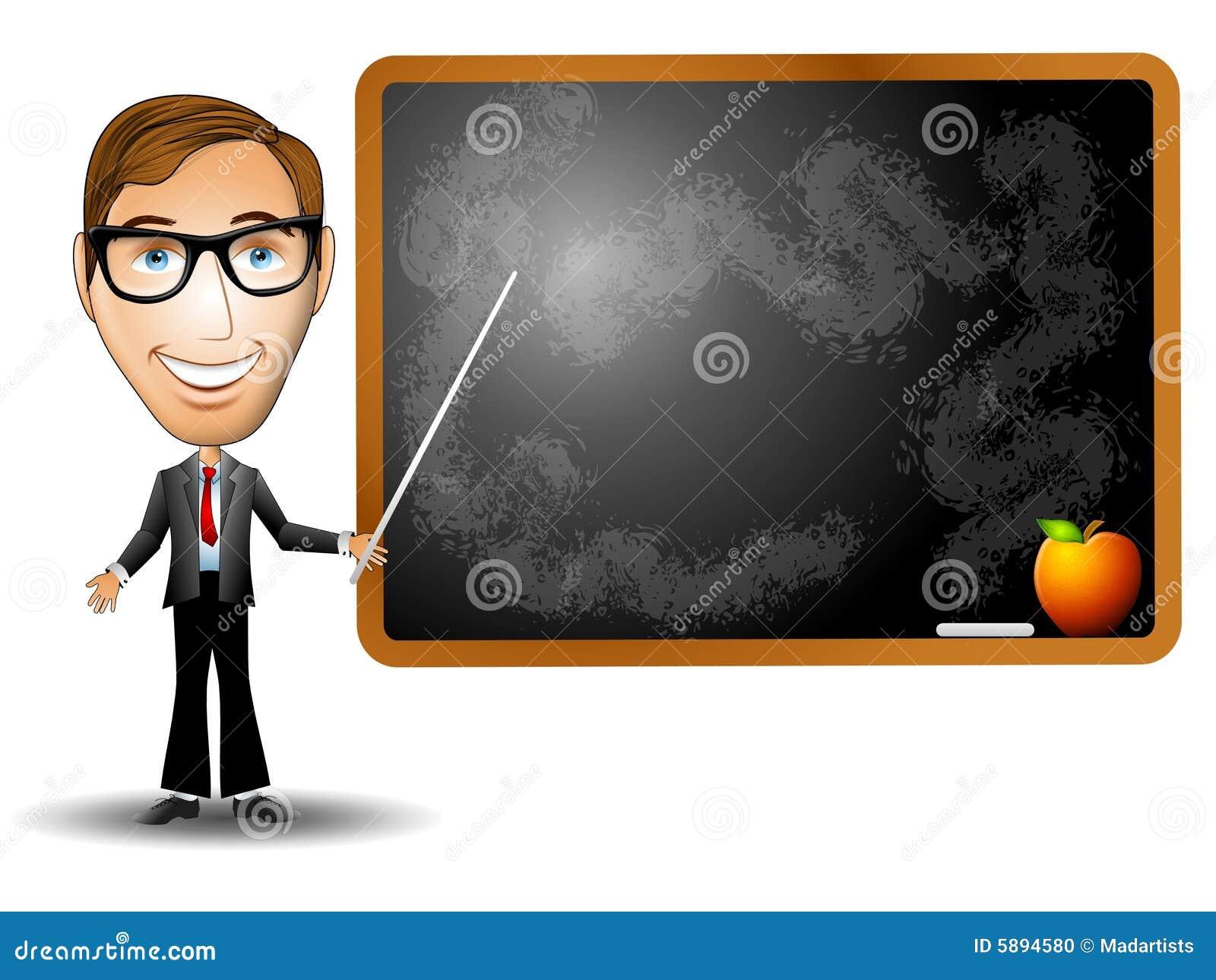 teacher chalkboard stock illustration  illustration of