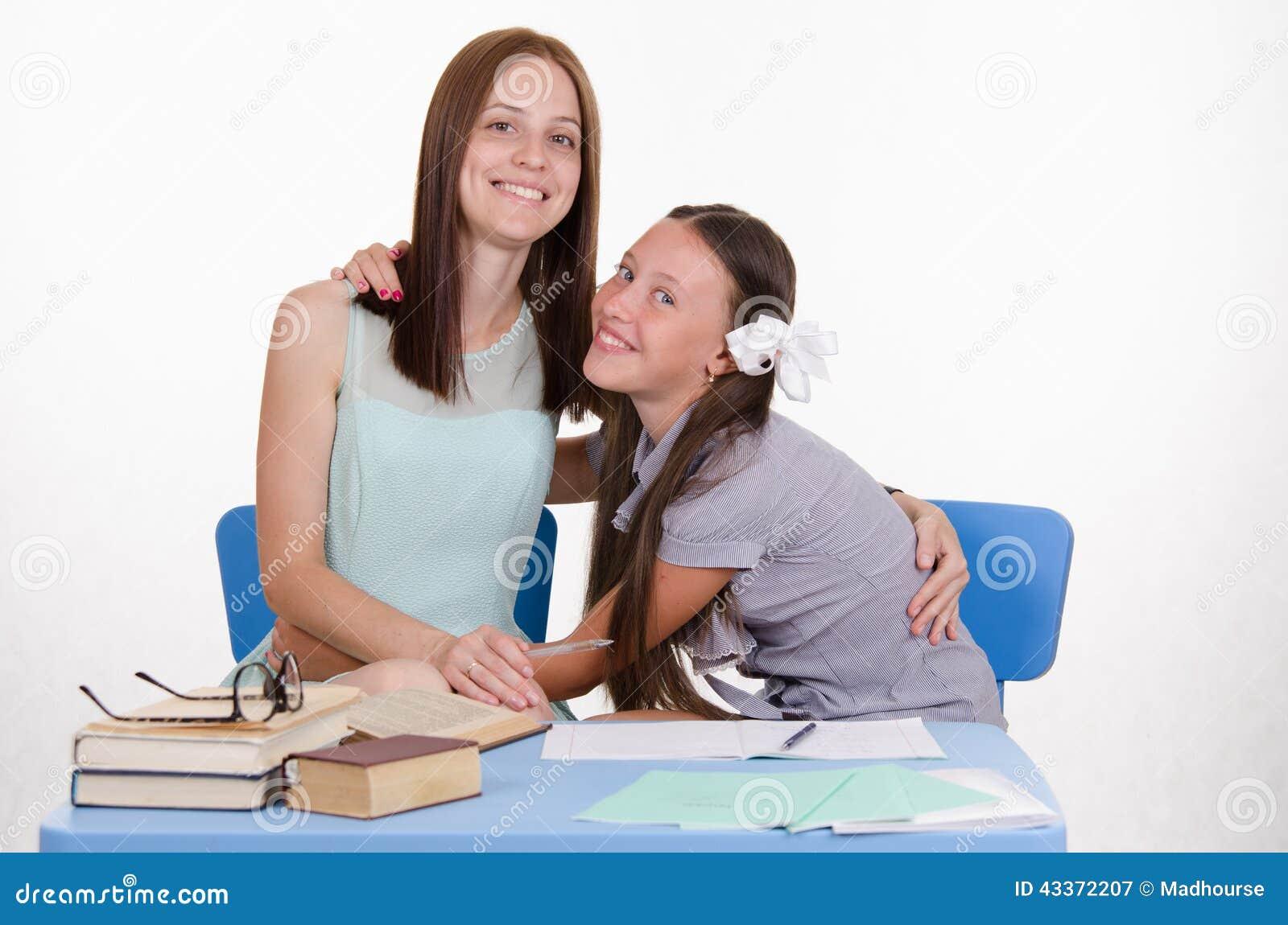 Ученик снял учительницу 3 фотография