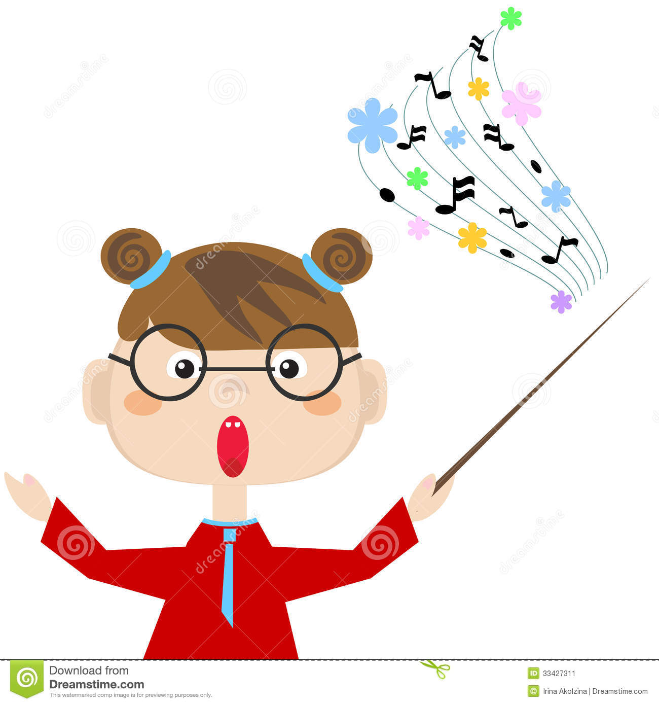 Teacher Of The Music Stock Image - Image: 33427311