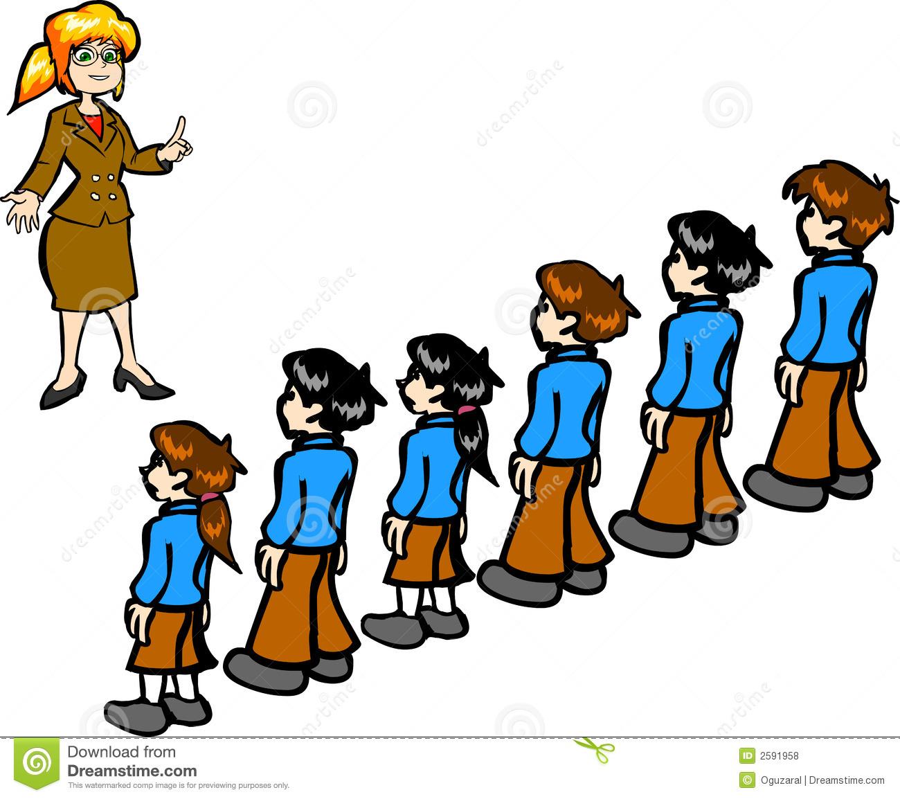 Teacher And Students Royalty Free Stock Photos - Image: 2591958