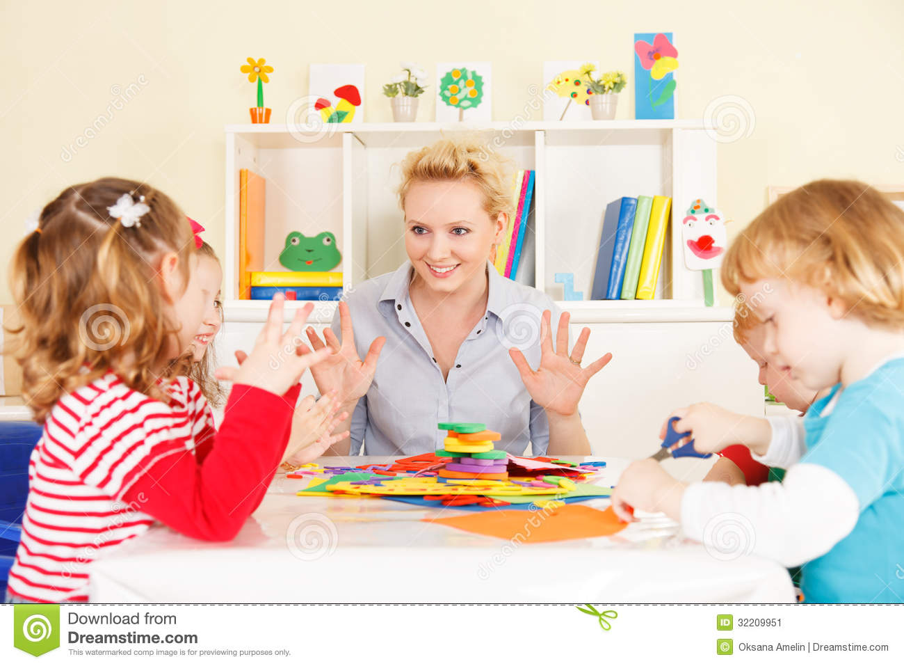 teacher talking with children stock image image 32209951 Worried Businessman On Phone Worried Face