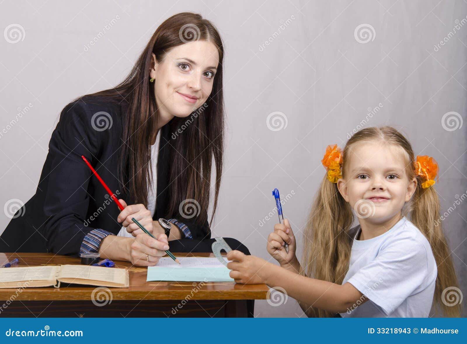 Смотреть бесплатно учитель и ученица 3 фотография