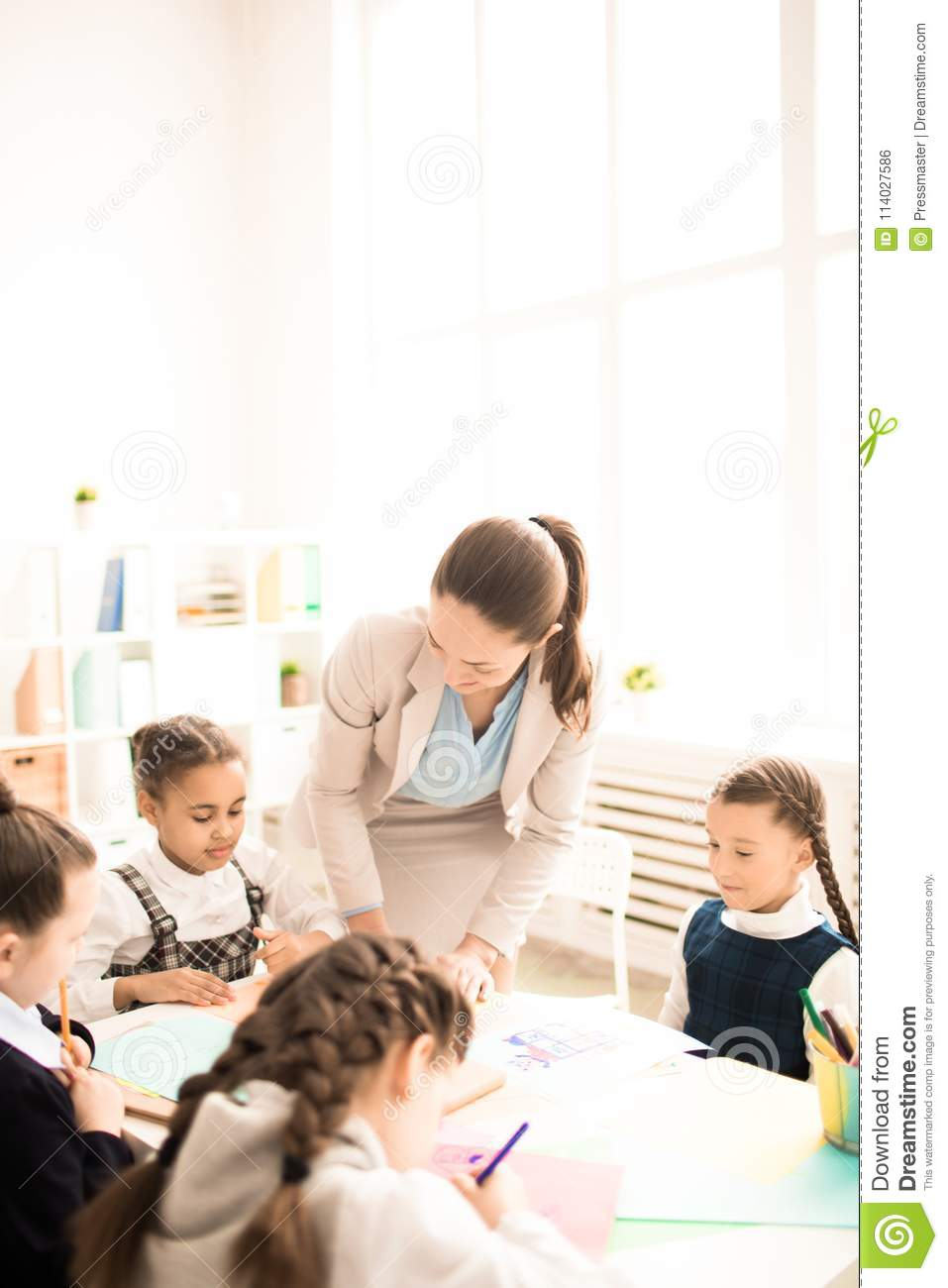 Primary school stock photo  Image of classroom