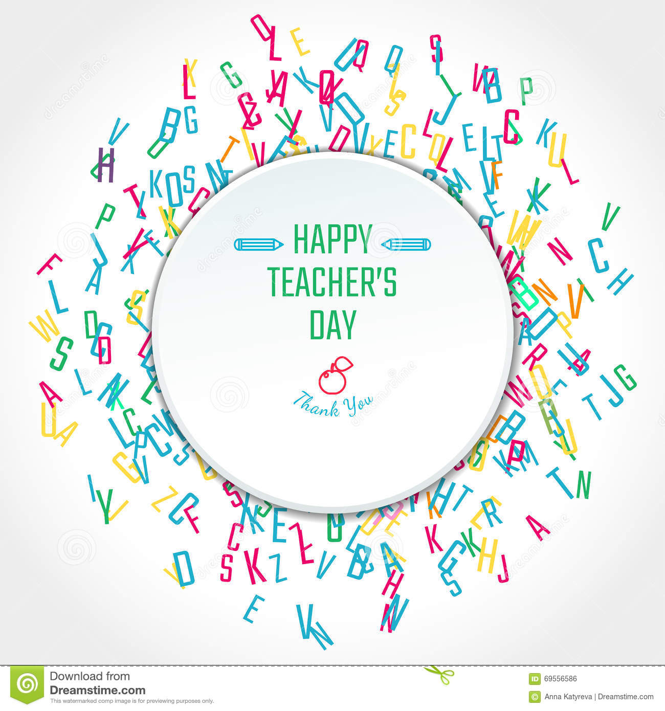 Teachers Day Holidays stock vector. Image of celebration ...
