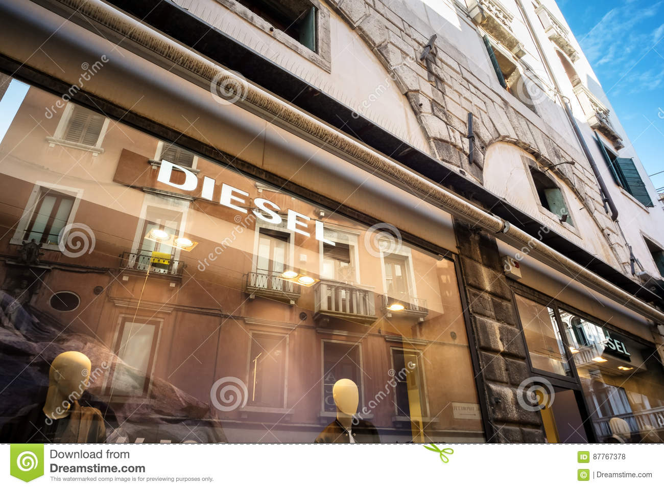 low priced 77a99 086b4 Teaches The Store Diesel In Venice Editorial Stock Photo ...