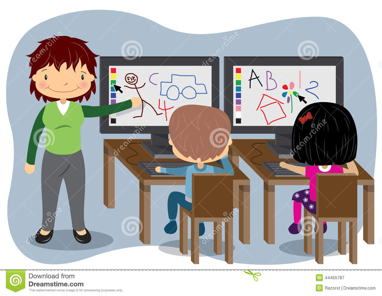 computer education clipart - photo #25