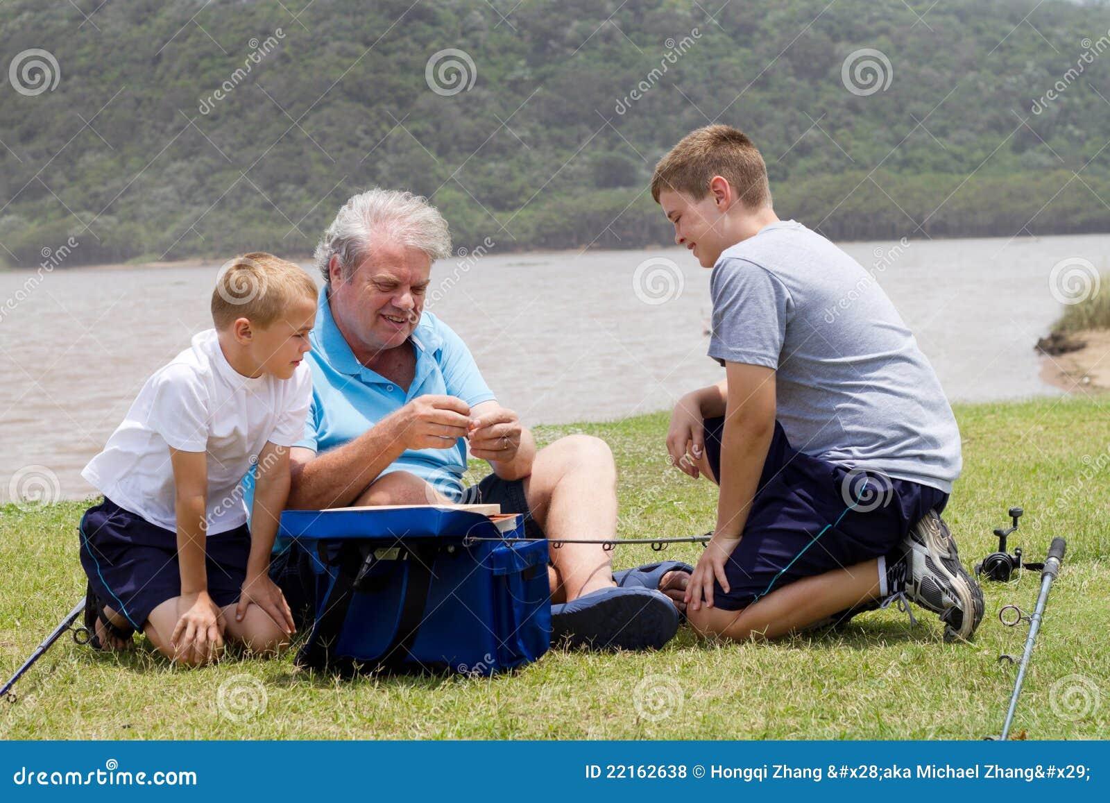 Teaching fishing
