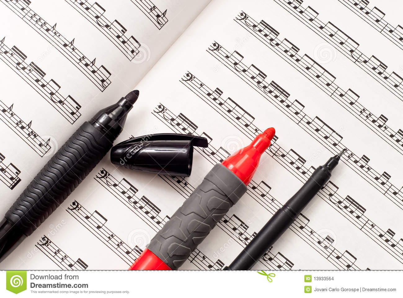Teaching Music Stock Images - Image: 13933564