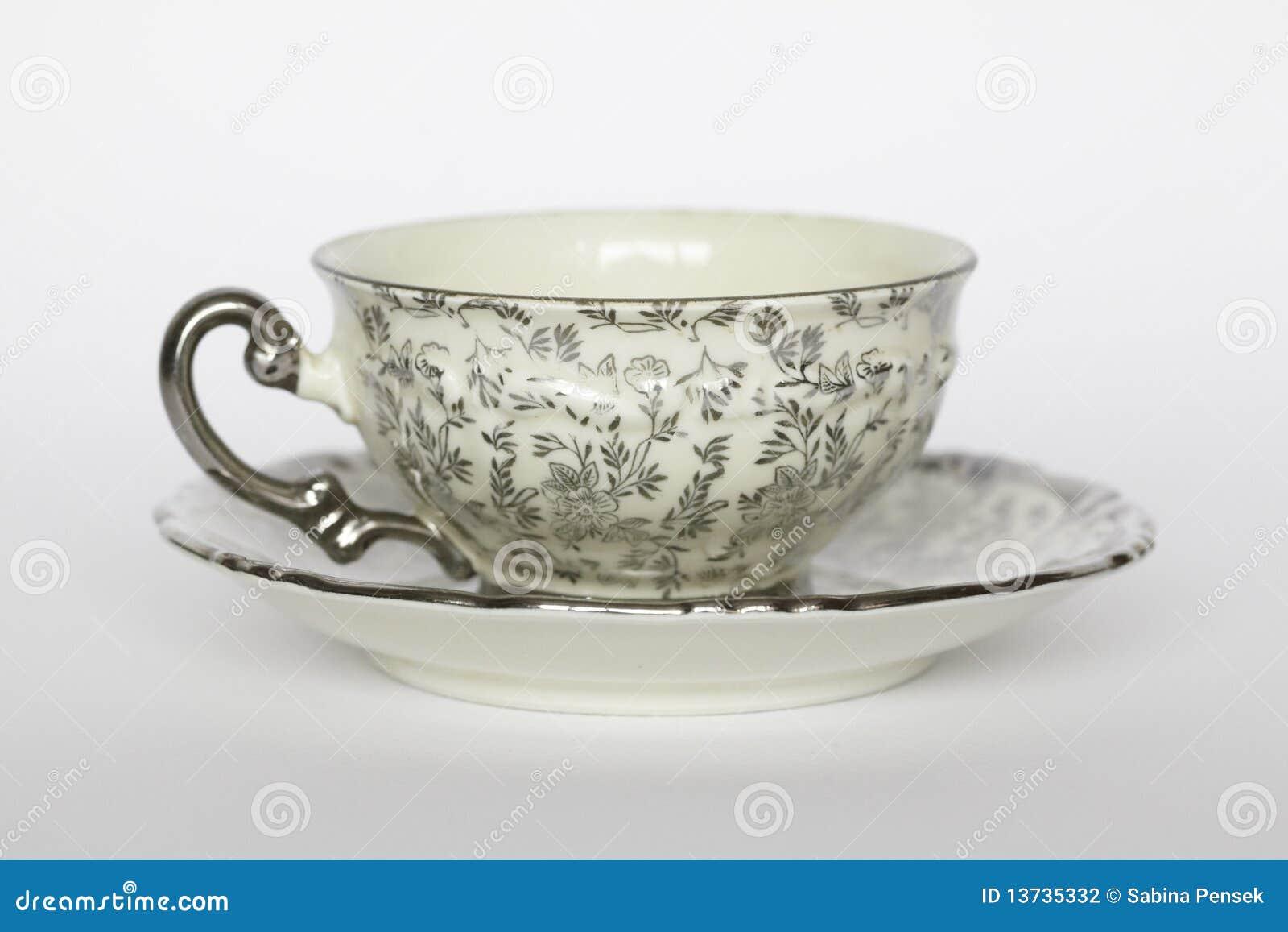 Teacup da porcelana