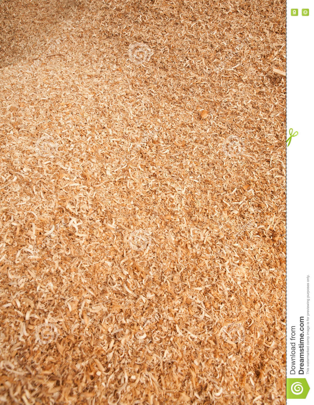 Teak Wood Sawdust Texture stock image  Image of recycling
