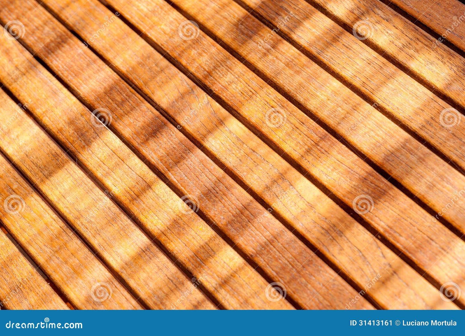 Teak Wood Table Stock Image Image 31413161