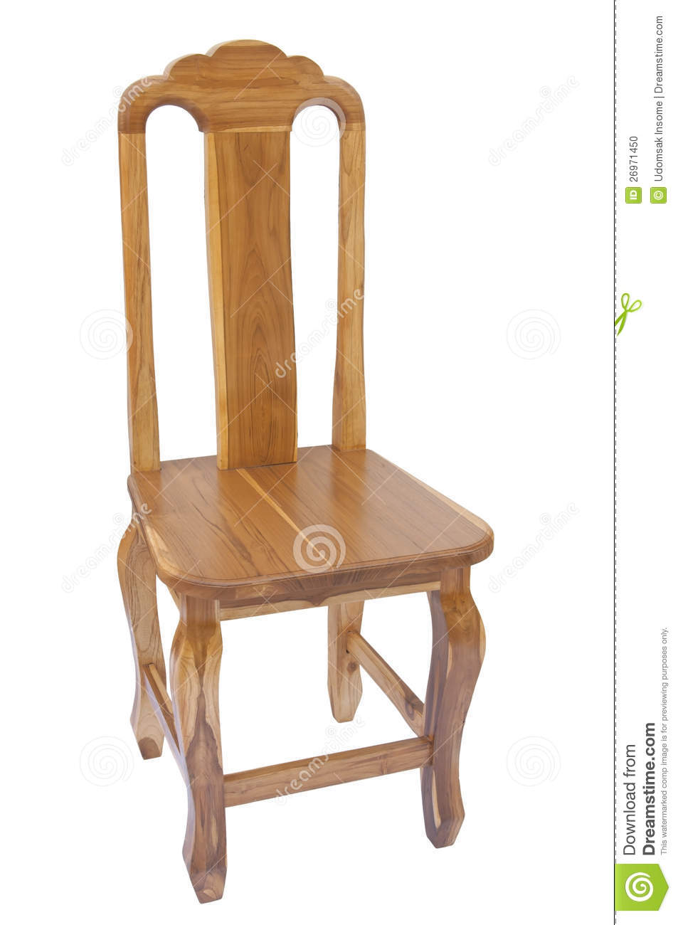Royalty Free Stock Photo. Download Teak Wooden Chair ...