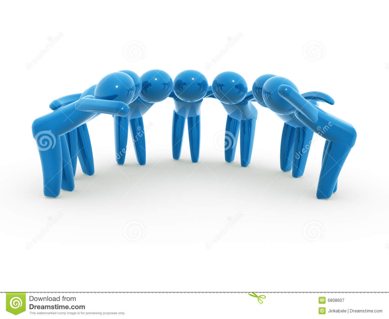 Team Brainstorming Royalty Free Stock Photography - Image: 6808607