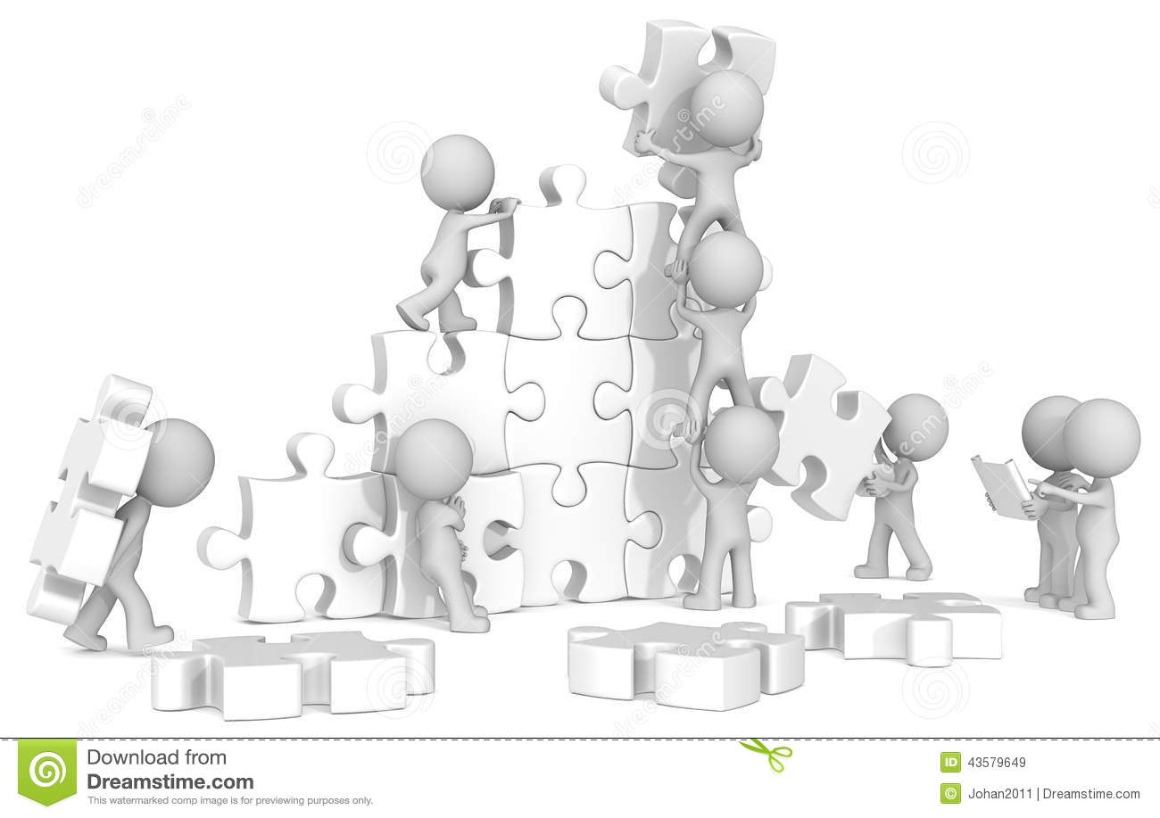 Team Building. Stock Illustration - Image: 43579649